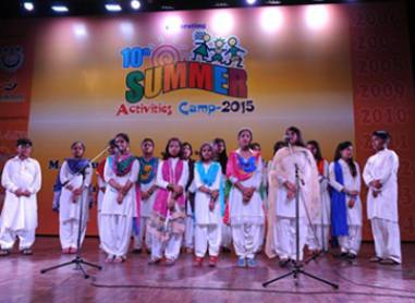 10 Summer Activities Camp 2015