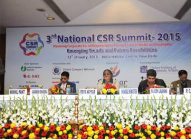 3rd National CSR summit 2015